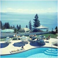 Slim Aarons, 'Relaxing at Lake Tahoe', 1959