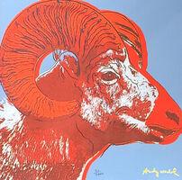 Andy Warhol, 'Bighorn Ram', 1986