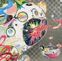 Takashi Murakami, 'Homage to Francis Bacon (Study of George Dyer)', 2017