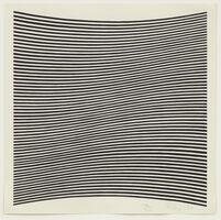 Bridget Riley, 'Untitled (La Lune en Rodage – Carlo Belloli)', 1965