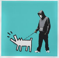 Banksy, 'Choose Your Weapon (Turquoise)', 2010