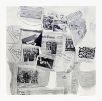 Robert Rauschenberg, 'Features from Currents #74', 1970