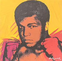 Andy Warhol, 'Muhammad Ali (Yellow)', 1986