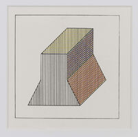 Sol LeWitt, 'Twelve forms derived from a cube (2)', 1984