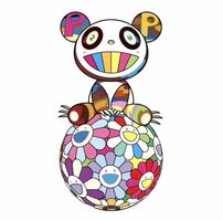 Takashi Murakami, 'Panda sitting on flower ball', 2020