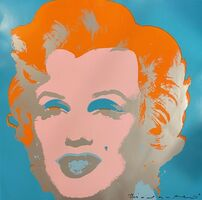 "Andy Warhol, 'Marilyn ""This is not by me""', 1985"