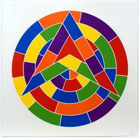 Sol LeWitt, 'Tondo 1 (3 point star)', 2002
