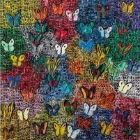 Hunt Slonem, 'Guardians & Butterflies', 2020