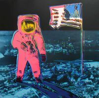 Andy Warhol, 'Moonwalk, Blue and Pink (FS II.405)', 1987