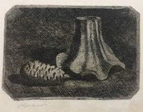 Natura Morta con Pigna e Frammento di Vaso (Still Life with Pine Cone and Fragment of Pot)