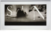 Ed Ruscha, 'Sin / Without', 2002