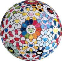 Takashi Murakami, 'Flowerball : Rainbow in the Midst', 2016