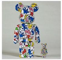 Keith Haring, 'Bearbrick 100% & 400%', 2018
