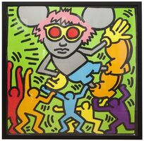 Keith Haring, 'Andy Mouse', ca. 1993