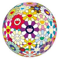 Takashi Murakami, 'Flowerball Sexual Violet No.1 (3D)', 2013