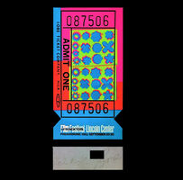 "Andy Warhol, '""Lincoln Center Ticket"", ACRYLIC EDITION, Signed/Numbered 44 of 200.', 1967"