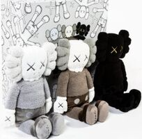 "KAWS, 'Kaws Holiday Hong Kong Limited 20"" Plush (Set of 3)', 2019"