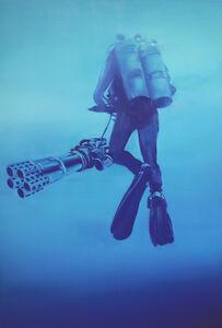 Dirk Skreber, 'Diver', 2012