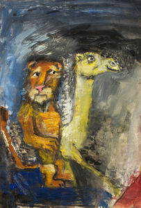 James Martin, 'Untitled (Lion and Camel)'