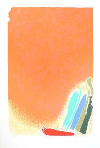 Friedel Dzubas (1915-1994), 'Fugue: Homage to Jack Bush', 1984