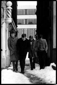 Kevin Cummins, '6.Joy Division, Cathedral Yard, Manchester 6 January 1979 ', 2006