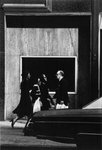 Louis Stettner, 'On Fifth Avenue', 1976