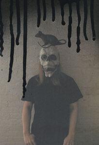 Hanna Liden, 'Self-Portrait with Rat', 2010
