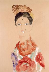 Francis Picabia, 'Espagnole (Espagnole à la cigarette) (Spanish Woman [Spanish Woman with Cigarette])', 1922