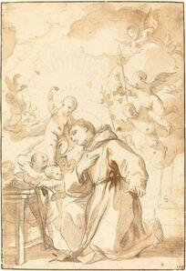 Luca Giordano, 'Saint Anthony of Padua'