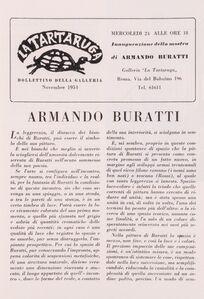 Armando Buratti, 'Bollettino'