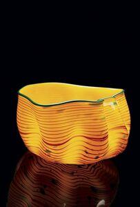 Chihuly Studio, 'Desert Yellow Macchia', 2006