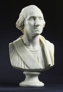 Jean-Antoine Houdon, 'Portrait of George Washington', ca. 1786