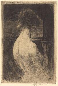 Albert Besnard, 'Back of a Woman (Dos de Femme)', 1889