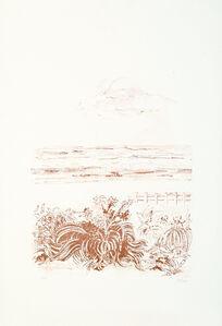 sandro sanna, 'Sea Scape', 1969
