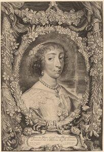Jonas Suyderhoff after Sir Anthony van Dyck, 'Henrietta Maria, Queen of England', 1650?