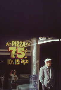 Saul Leiter, 'Pizza Paterson', 1952