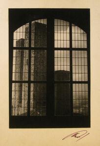 Anatole Saderman, 'Una ventana de San Gemignano', 1960