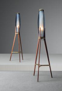 Svend Aage Holm Sørensen, 'A pair of standard lamps', designed 1950s