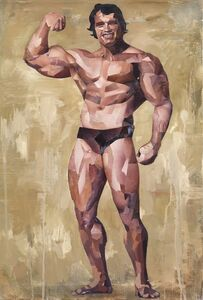 Jonathan Yeo, 'Arnie (Onan the Barbarian)', 2011