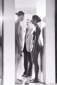 Mario Carbone, 'Imponderabilia, Performance Abramovic and Ulay with the critic Renato Barilli', 1977
