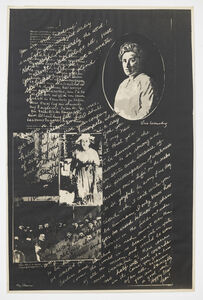 May Stevens, 'Rosa Luxemburg', 1977