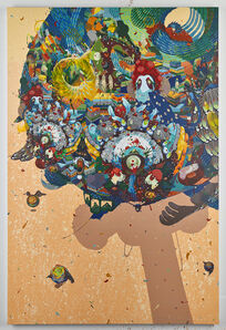 Mi Ju, 'Rising Star, Falling Dust', 2014