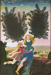 Peter Blake, 'After Pollaiuolo's 'Apollo and Daphne', 1996