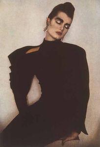 Sheila Metzner, 'Brooke Shields', 1985