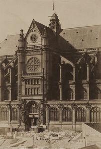 Jean-Louis-Henri Le Secq, 'Paris, portail méridional de Saint-Eustache Mansard de Jouy', 1851/1851