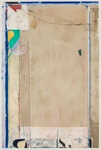 Richard Diebenkorn, 'Touched Red', 1991