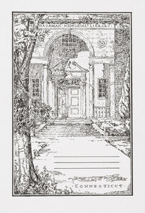Charles LeDray, 'Hagaman Memorial Library, Connecticut', 2018