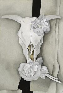 Georgia O'Keeffe, 'Cow's Skull with Calico Roses', 1931