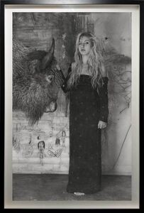 "Annie Murphy-Robinson, 'Emily and The Buffalo ""Bewitcheen""', 2019"