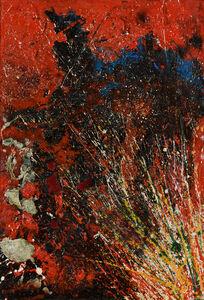 Toshimitsu Imai, 'Red Composition', 1963